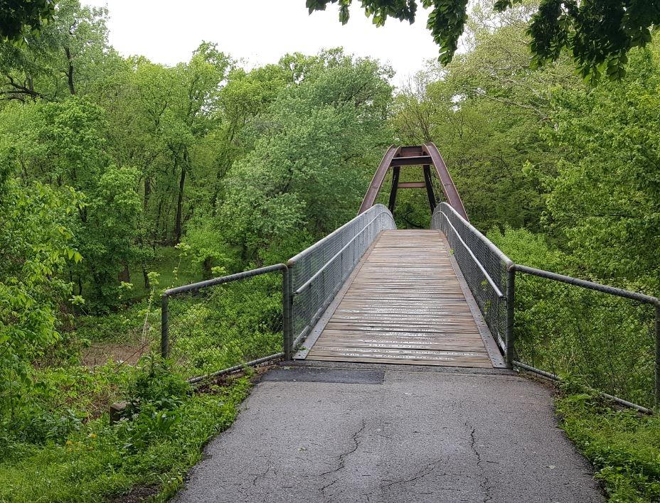 Pathfinder pedestrian bridge